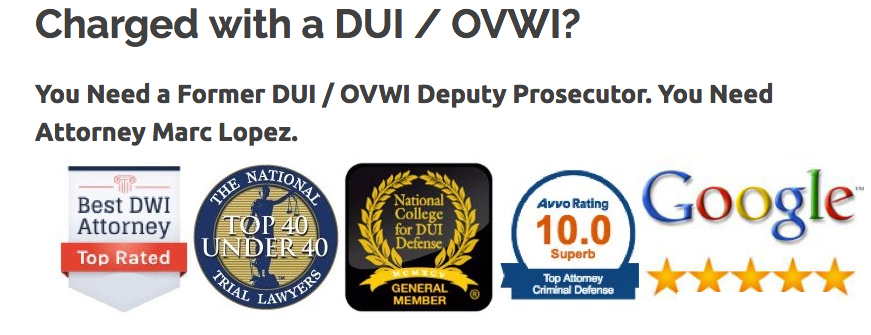 Indiana's Premier DUI Attorney
